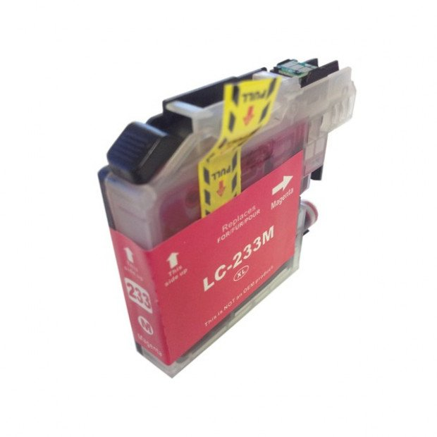 Suit Brother. LC-233 Magenta Compatible Inkjet Cartridge