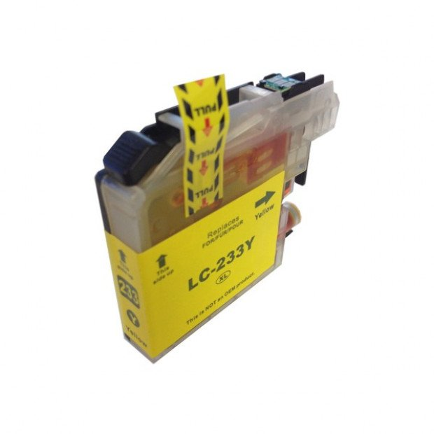 Suit Brother. LC-233 Yellow Compatible Inkjet Cartridge