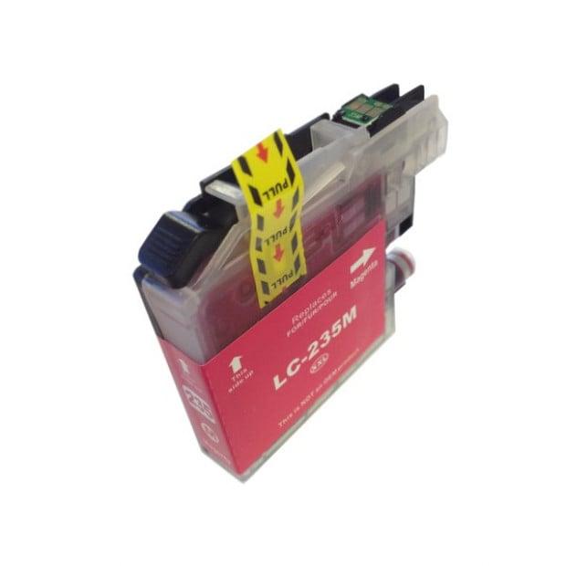 Suit Brother. LC235XL Magenta Premium Compatible Inkjet Cartridge