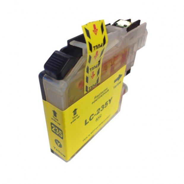 Suit Brother. LC235XL Yellow Premium Compatible Inkjet Cartridge