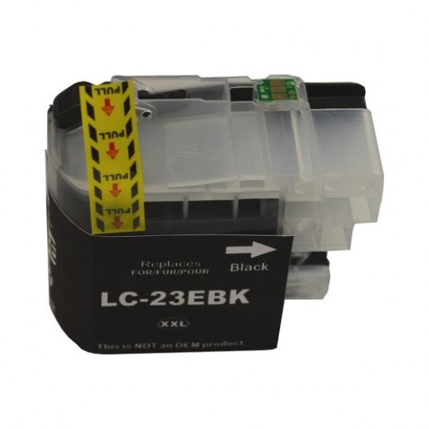 Suit Brother. LC-23E Black Compatible Inkjet Cartridge
