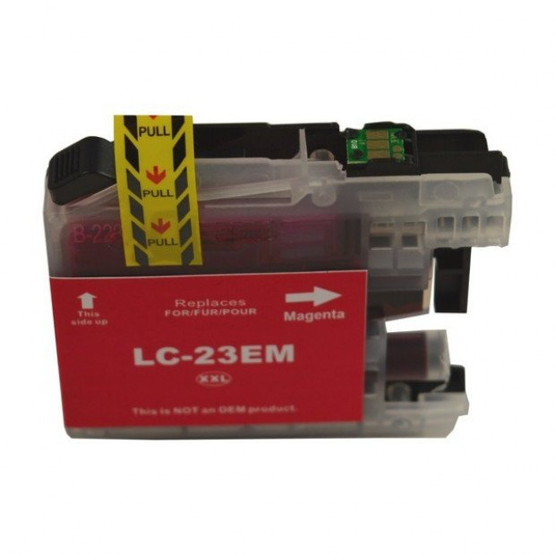 Suit Brother. LC-23E Magenta Compatible Inkjet Cartridge