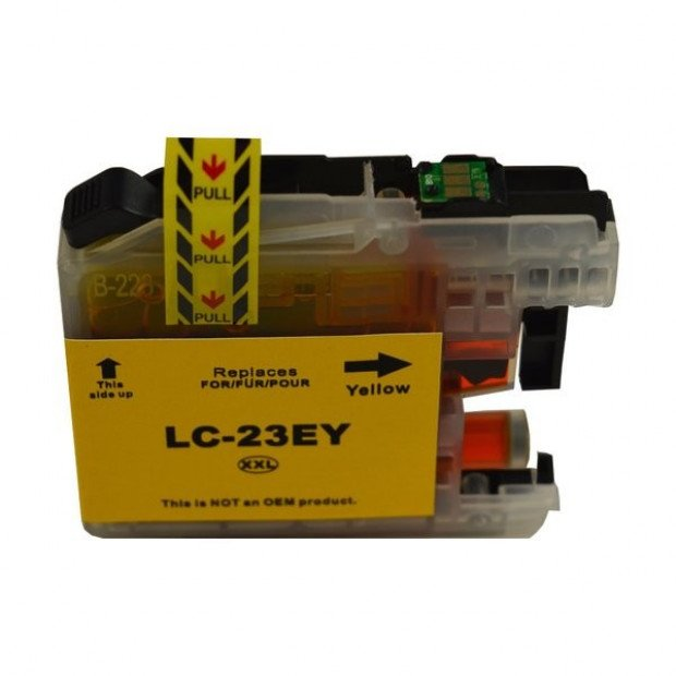 Suit Brother. LC-23E Yellow Compatible Inkjet Cartridge