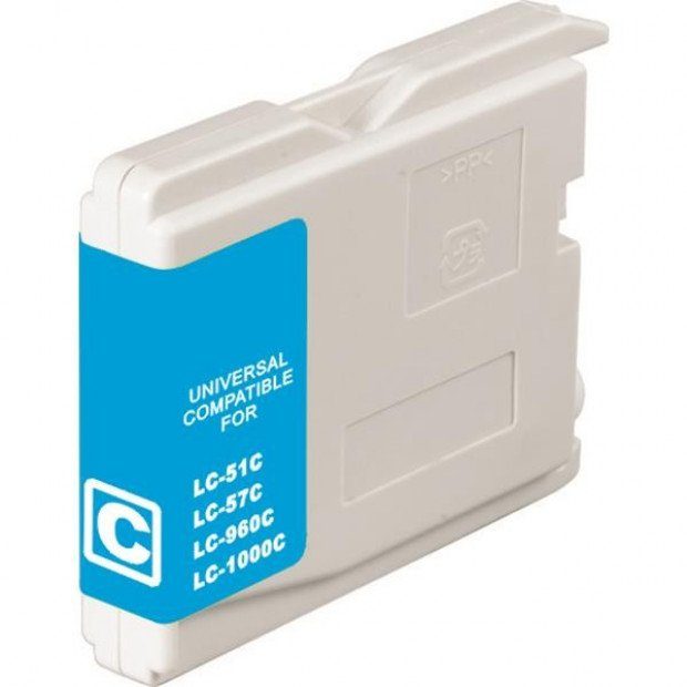 Suit Brother. LC37 LC57 Cyan Compatible Inkjet Cartridge
