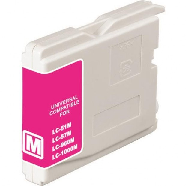 Suit Brother. LC37 LC57 Magenta Compatible Inkjet Cartridge