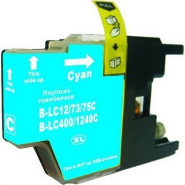 Suit Brother. LC73XL Cyan Compatible Inkjet Cartridge