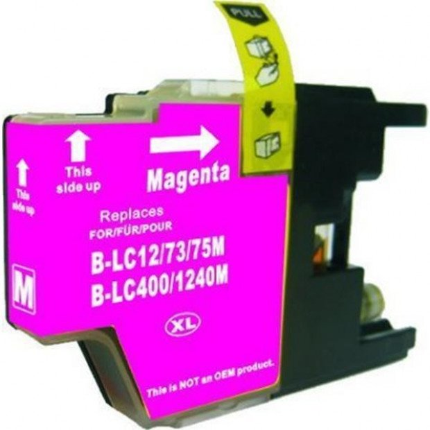Suit Brother. LC73XL Magenta Compatible Inkjet Cartridge