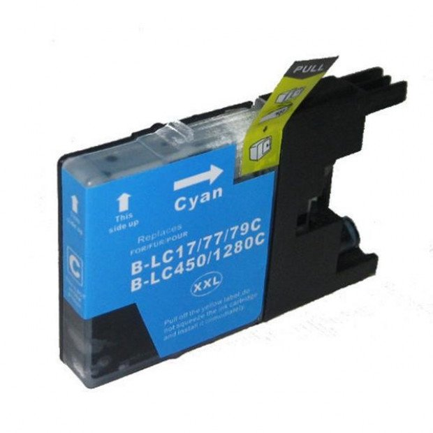 Suit Brother. LC77XL Cyan Compatible Inkjet Cartridge