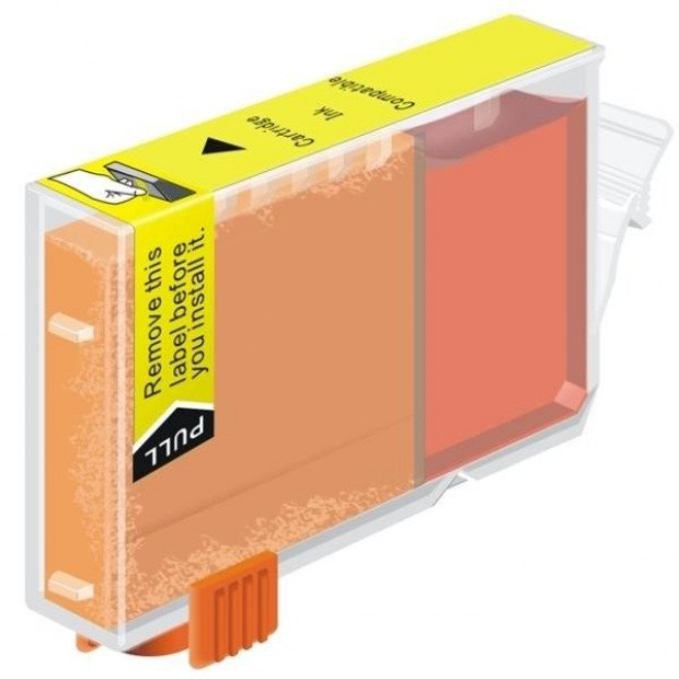 Suit Canon. CLI-8 Yellow Compatible Inkjet Cartridge