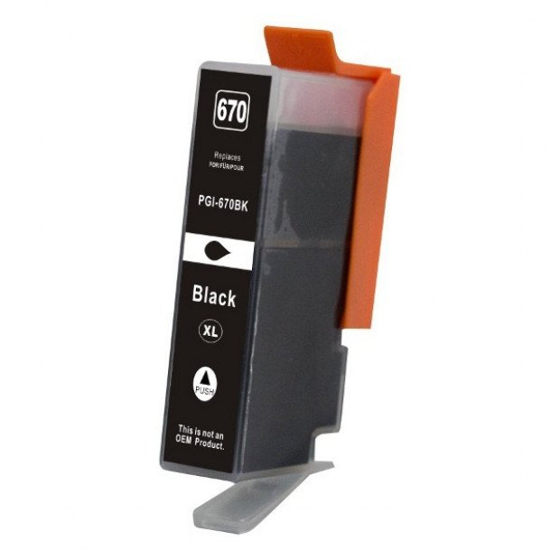 Suit Canon. PGI-670XL Black Premium Compatible Inkjet Cartridge