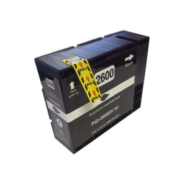 Suit Canon. PGI-2600XL Pigment Black Compatible Inkjet Cartridge