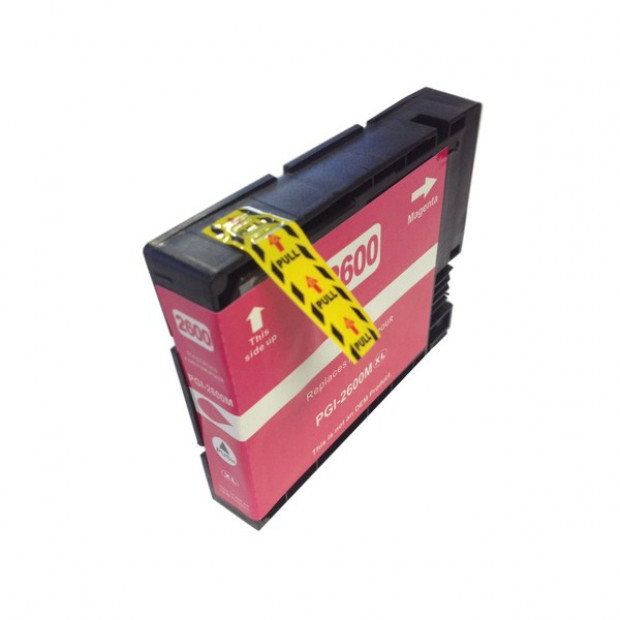 Suit Canon. PGI-2600XL Pigment Magenta Compatible Inkjet Cartridge
