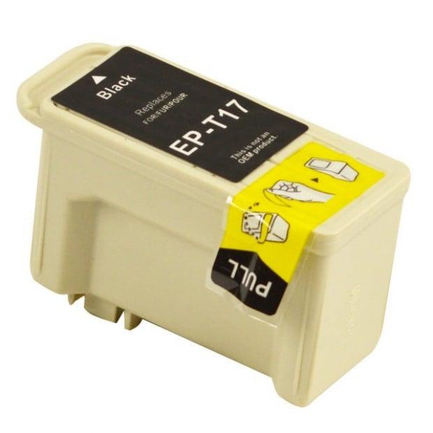 Suit Epson. T017 Black Compatible Inkjet Cartridge
