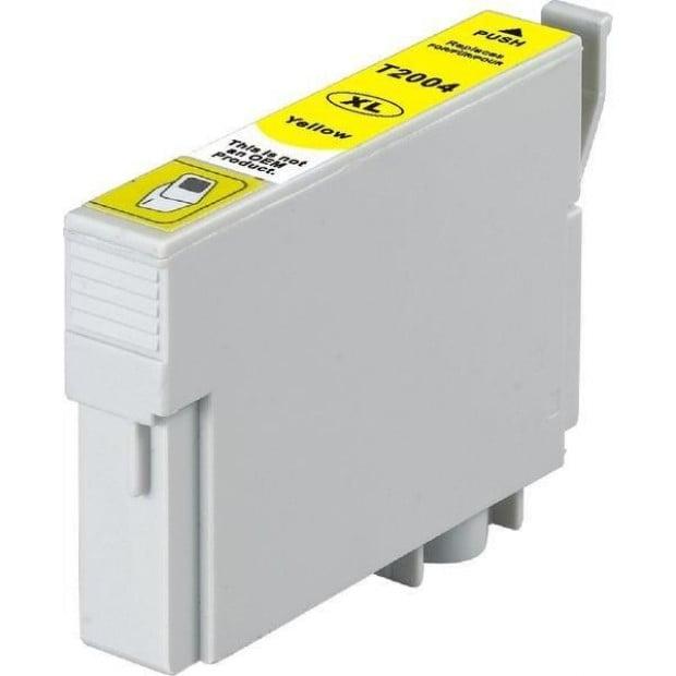 Suit Epson. 200XL Yellow Premium Compatible Cartridge
