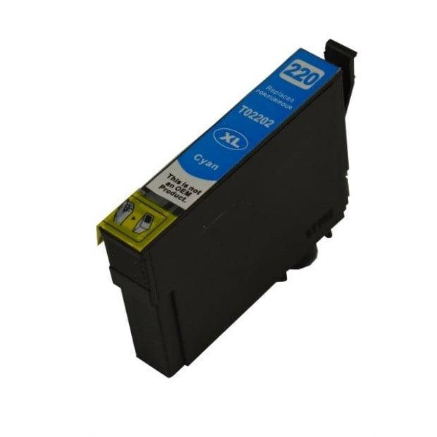 Suit Epson. 220CXL Cyan Premium Compatible Inkjet Cartridge