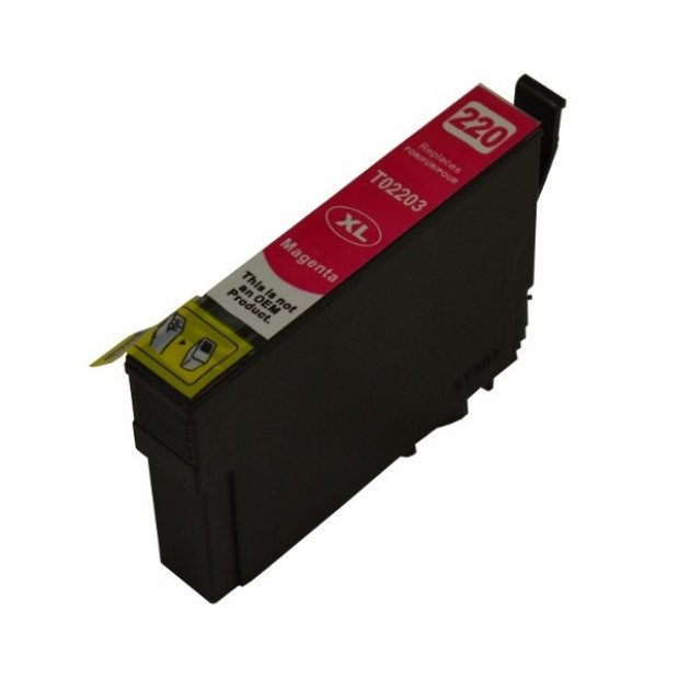 Suit Epson. 220MXL Magenta Premium Compatible Inkjet Cartridge