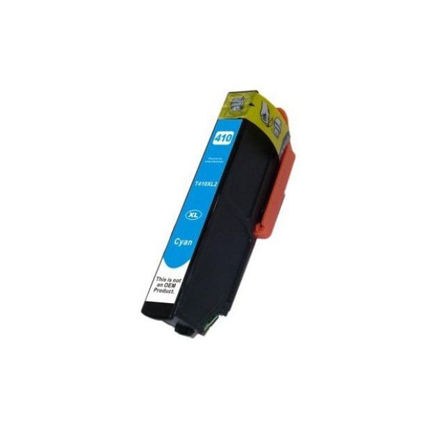 Suit Epson. 410XL Cyan Compatible Inkjet Cartridge
