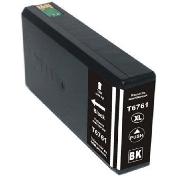 Suit Epson. 676XL (T6761) Black Compatible Inkjet Cartridge