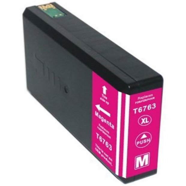 Suit Epson. 676XL (T6763) Magenta Compatible Inkjet Cartridge