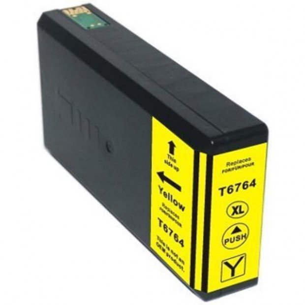 Suit Epson. 676XL (T6764) Yellow Compatible Inkjet Cartridge