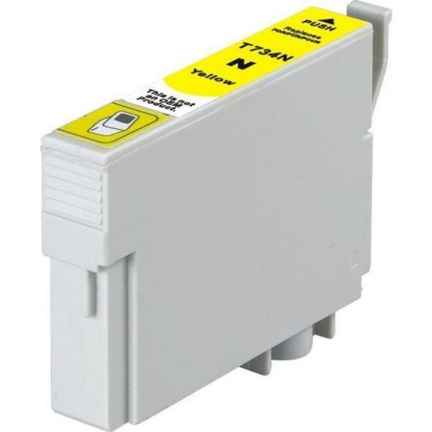 Suit Epson. 73N / T0734 Pigment Yellow Compatible Inkjet Cartridge