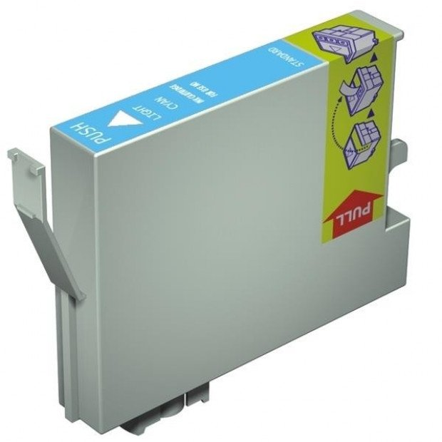 Suit Epson. T0495 Light Cyan Compatible Inkjet Cartridge