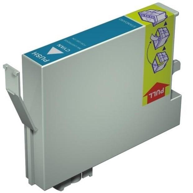 Suit Epson. T0542 Cyan Compatible Inkjet Cartridge