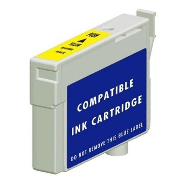 Suit Epson. Compatible 103 High Capacity Yellow cartridge