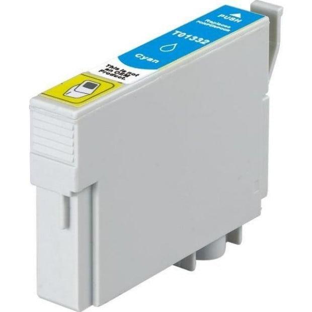 Suit Epson. T1332 (133) Pigment Cyan Compatible Inkjet Cartridge