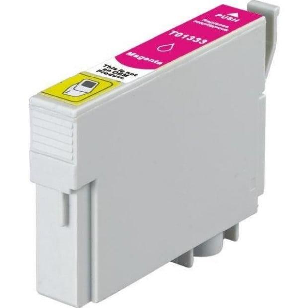Suit Epson. T1333 (133) Pigment Magenta Compatible Inkjet Cartridge