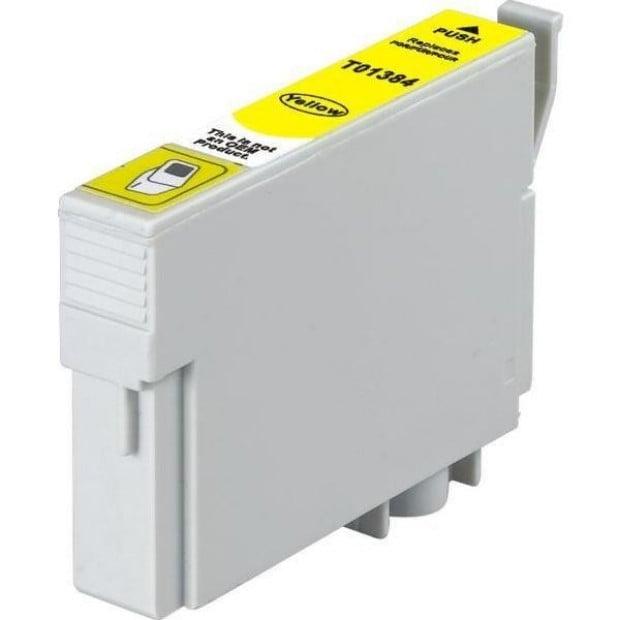 Suit Epson. T1384 (138) Pigment Yellow Compatible Inkjet Cartridge