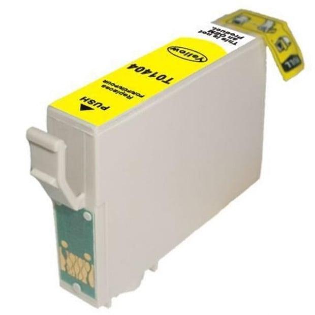Suit Epson. T1404 Yellow Compatible Inkjet Cartridge