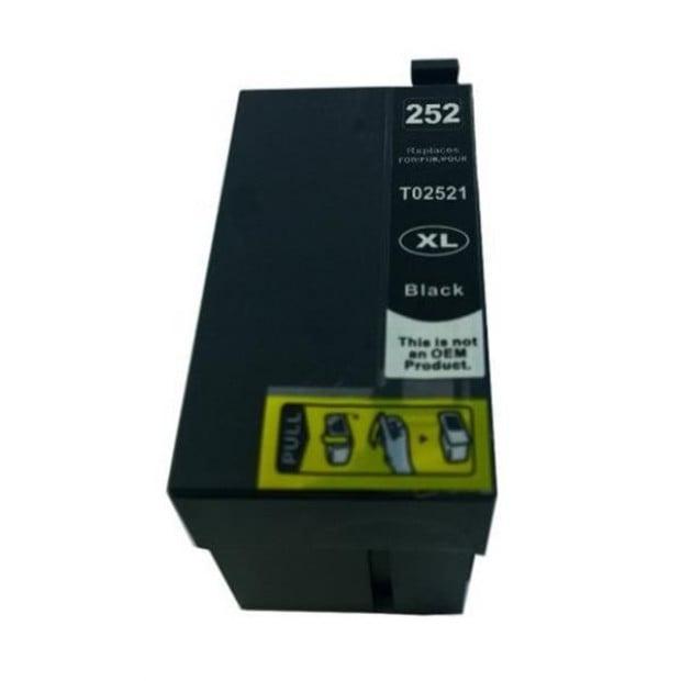 Suit Epson. 252XL Black Premium Compatible Inkjet Cartridge