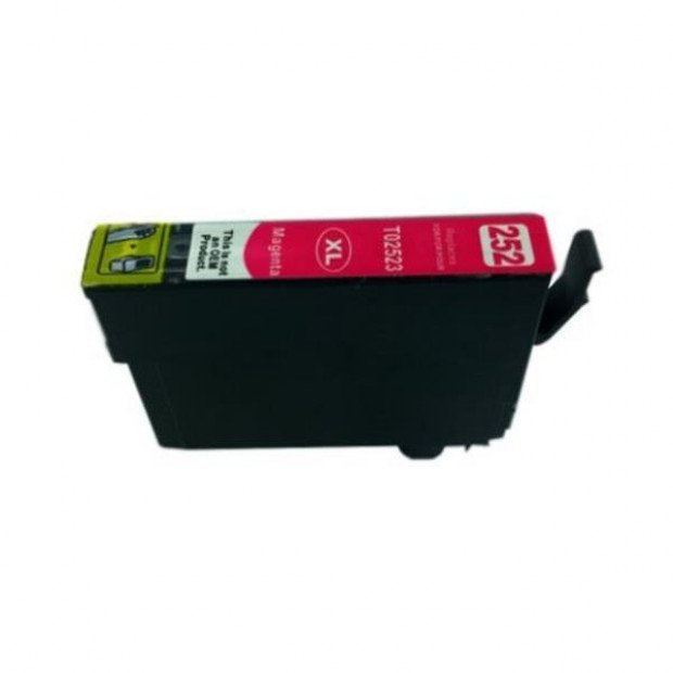 Suit Epson. 252XL Magenta Compatible Inkjet Cartridge