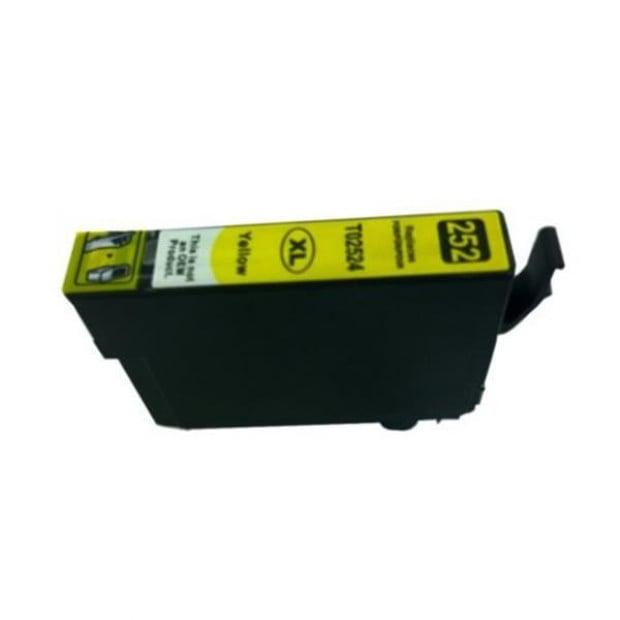 Suit Epson. 252XL Yellow Compatible Inkjet Cartridge