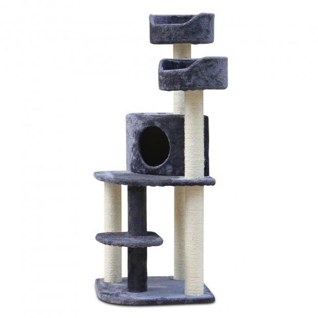 Cat Scratch Tree 126CM Grey