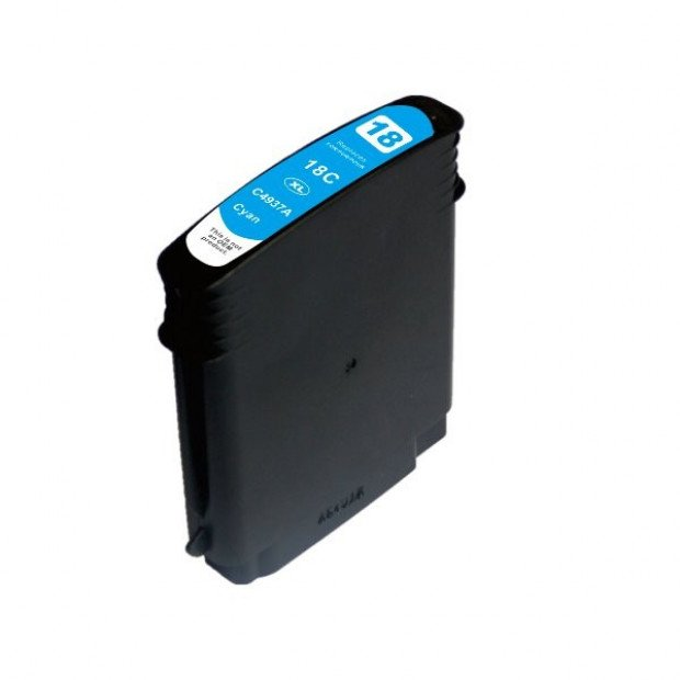 Suit HP. 18 #18 High Yield Cyan Compatible Inkjet Cartridge
