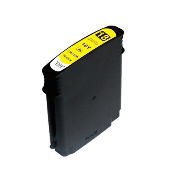 Suit HP. 18 #18 High Yield Yellow Compatible Inkjet Cartridge