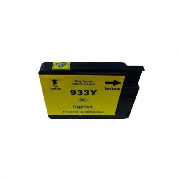 Suit HP. 933XL Yellow Compatible Cartridge with Chip