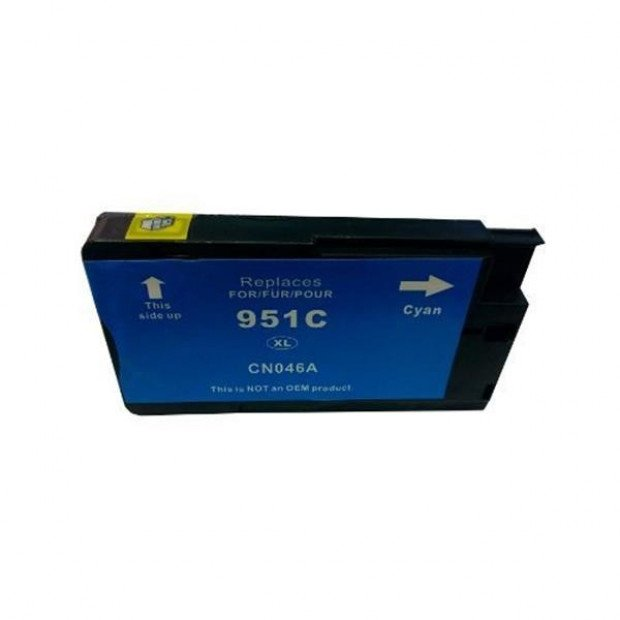 Suit HP. HP 951XL Cyan Compatible Cartridge with Chip
