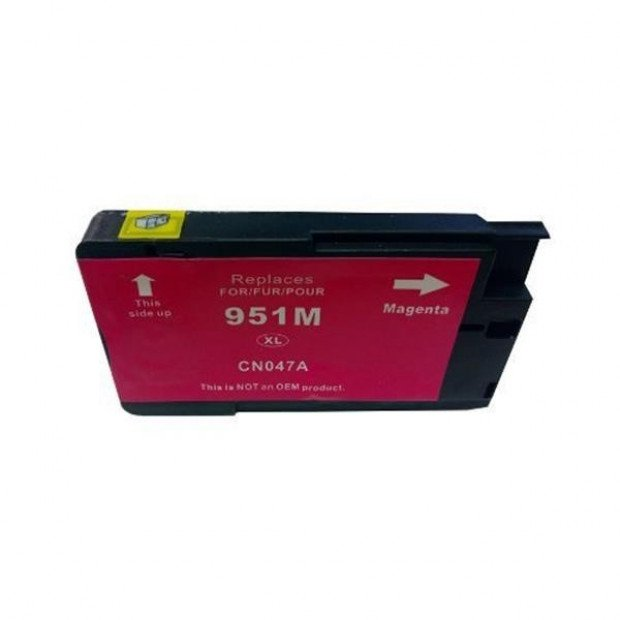 Suit HP. HP 951XL Magenta Compatible Cartridge with Chip