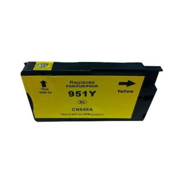 Suit HP. HP 951XL Yellow Compatible Cartridge with Chip