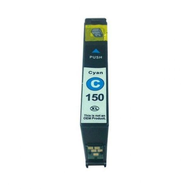 Suit Lexmark. 150XL Cyan Compatible Inkjet Cartridge