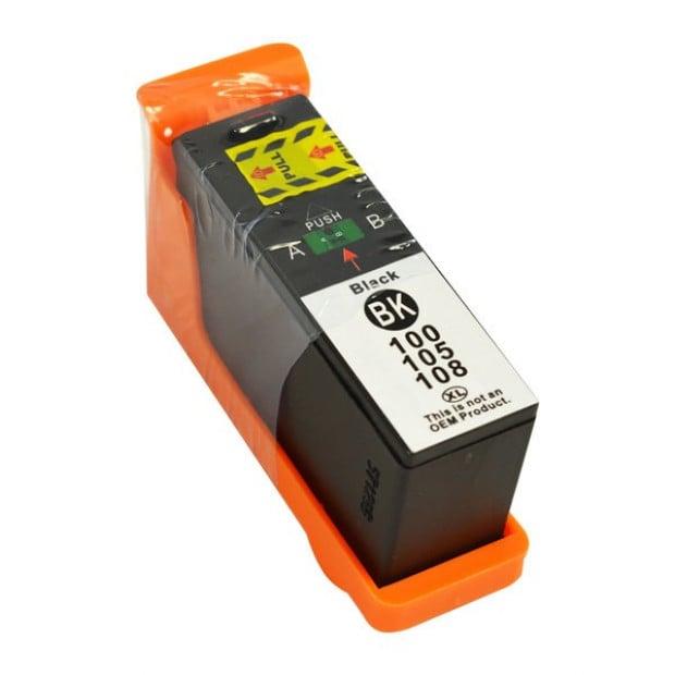 Suit Lexmark. 100XL Black Compatible Inkjet Cartridge