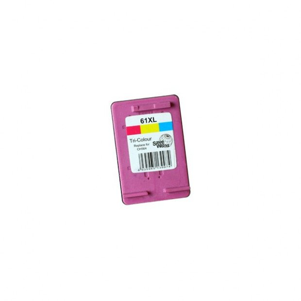 Suit HP. 61XL Colour Remanufactured Inkjet Cartridge (New Chip)