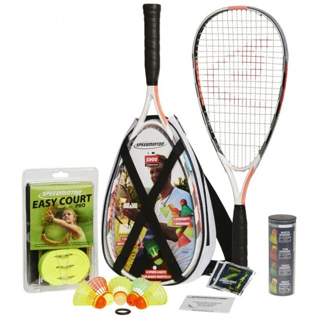 Speedminton Badminton s900 Racket Set