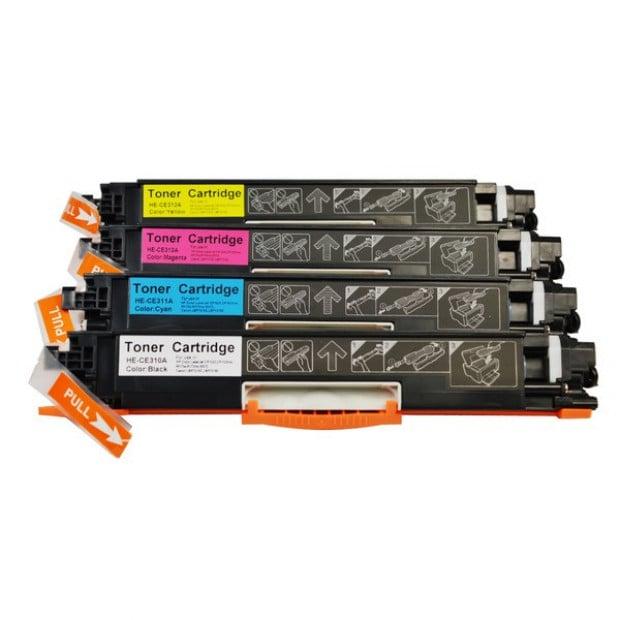 Generic Toner Cartridge Set to suit HP CE310 Series