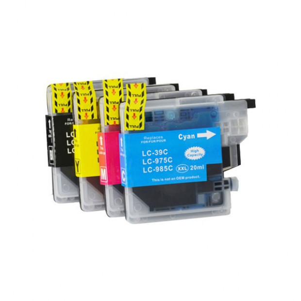 Compatible Inkjet Cartridge Set to suit Brother LC39