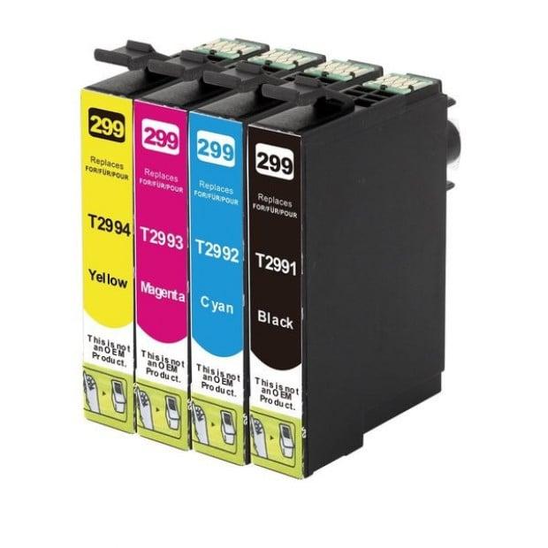 Suit Epson. 29XL Compatible Inkjet Cartridge Set 4 Ink [Boxed Set]