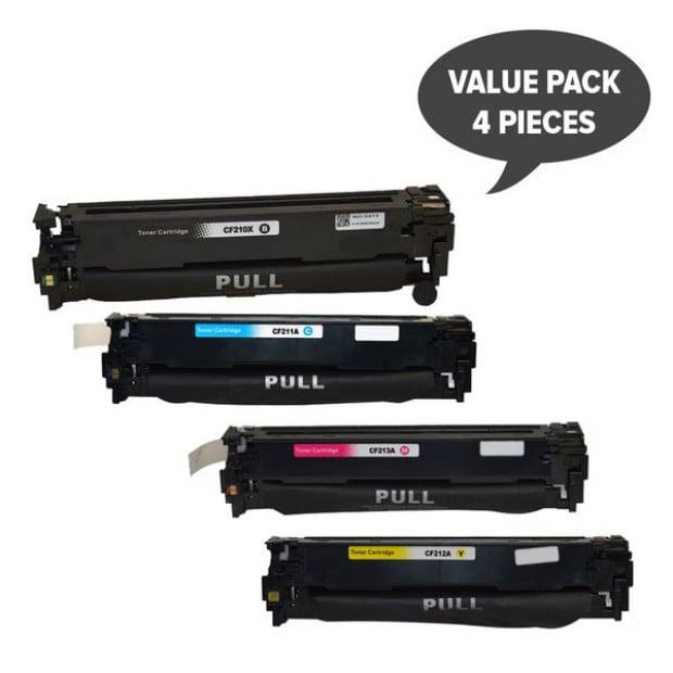 Generic Toner Cartridge Set of 4 to suit HP CF210 131 Series